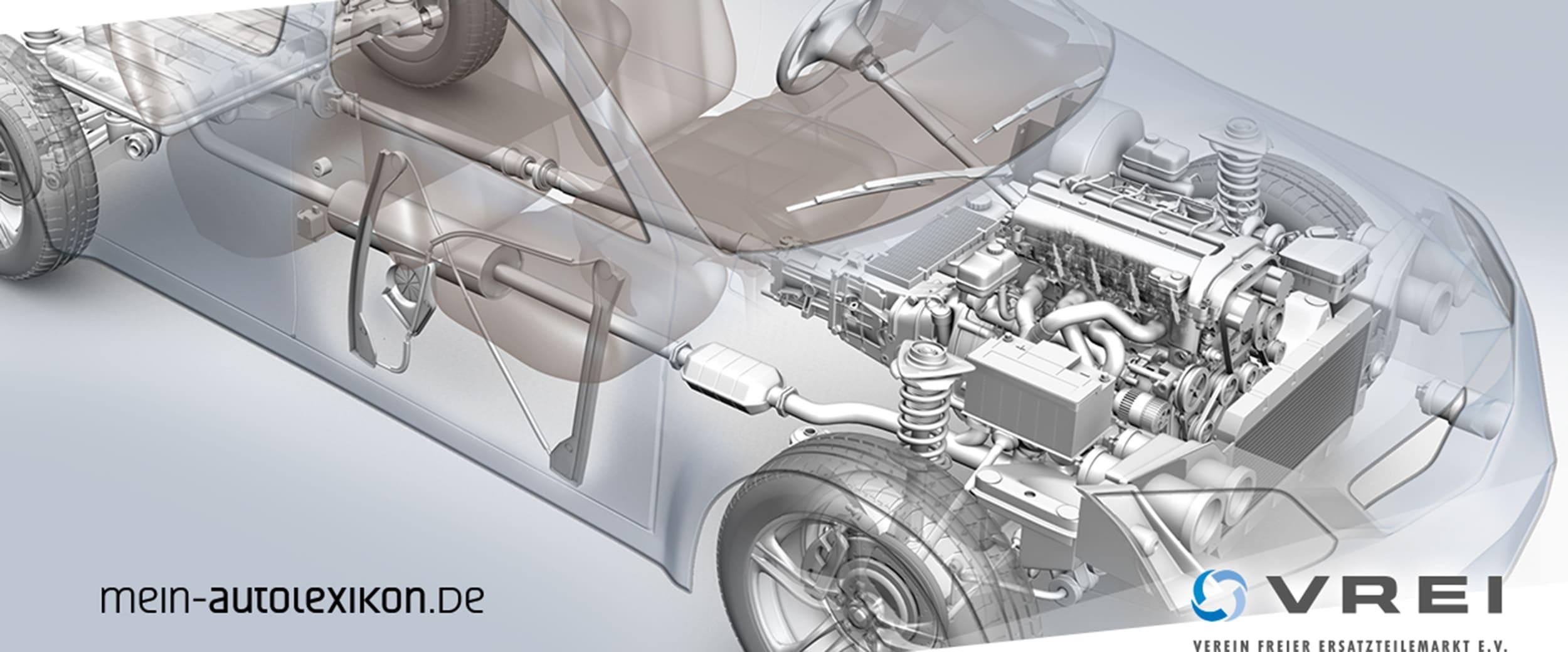Bild von der Animation eines Autos.