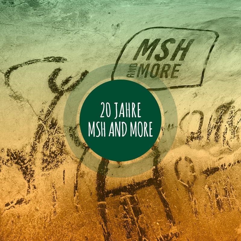 Höhlenmalerei mit MSH-Logo